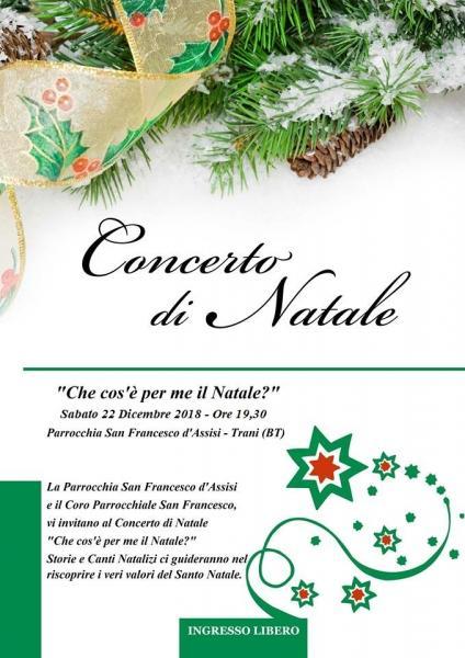 """Concerto di Natale """"Che cos'è per me il Natale?"""""""