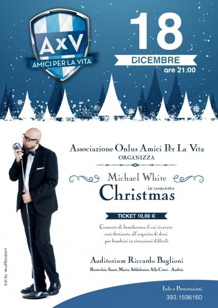 Michael White & Friends Christmas - Concerto Benefico
