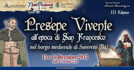 Presepe Vivente all'epoca di San Francesco