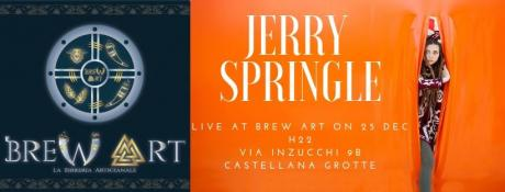 Jerry Springle Live di Natale.