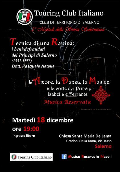 """""""L'Amore, la Danza, la Musica alla corte di Isabella e Ferrante"""""""