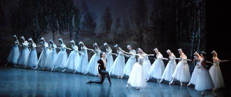 """Classical Russian Ballet in """"Giselle"""""""