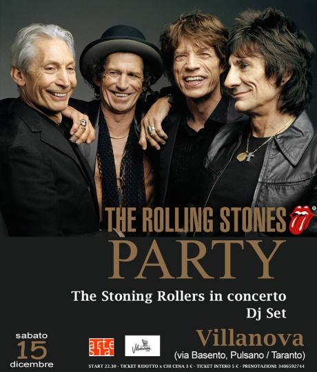The Rolling Stones Party / The Stoning Rollers omaggio ai Rolling Stones + Dj Set
