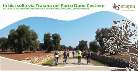 In bici sulla via Traiana nel Parco Dune Costiere