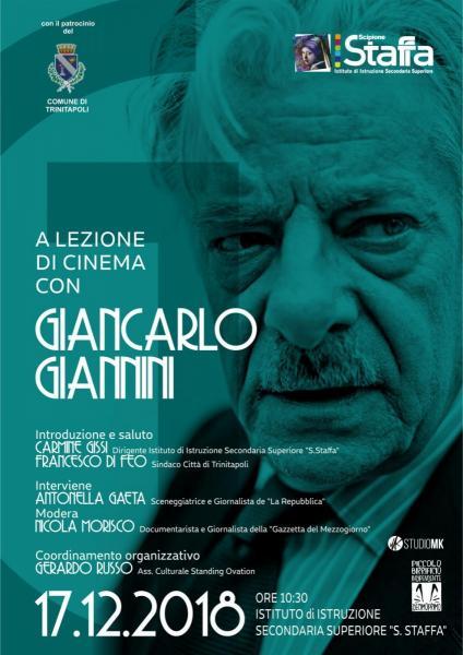 """A lezione di cinema con Giancarlo Giannini e Spettacolo serale """"Todo el amor"""""""