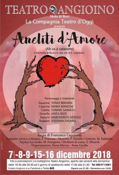 Aneliti d'Amore, commedia brillante
