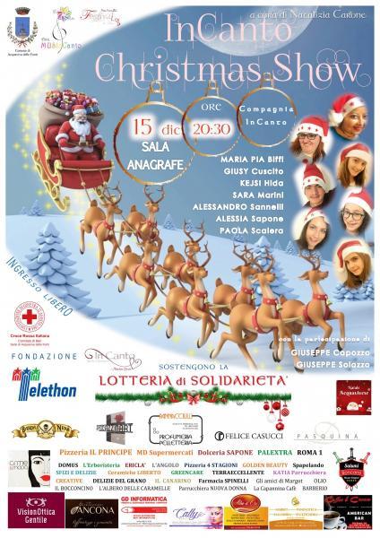 InCanto Christmas Show