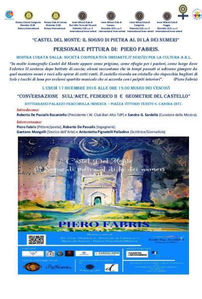Conversazione sull'arte. Federico II e le geometrie del castello.