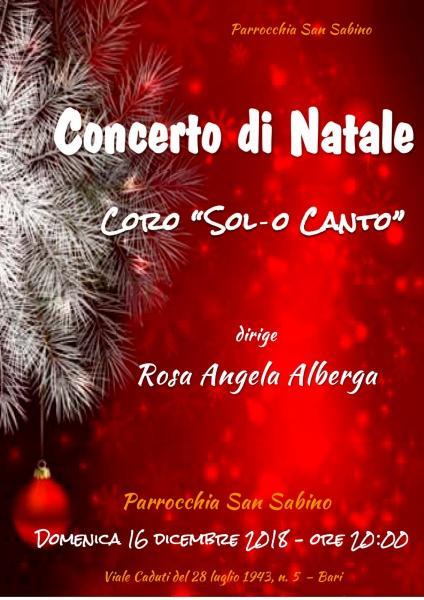 Concerto di Natale del Coro Sol-o Canto