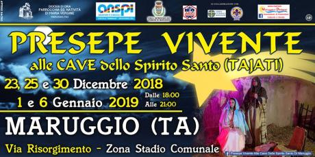 PRESEPE VIVENTE ALLE CAVE DELLO SPIRITO SANTO (TAJATI)