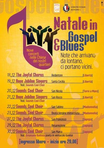 Natale in Gospel & Blues