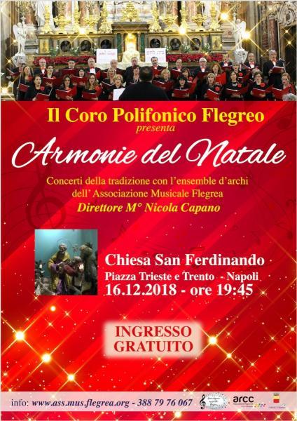 Il Natale in musica del Coro Polifonico Flegreo