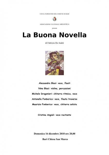 La Buona Novella di Fabrizio De André