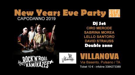New Years Eve Party / Capodanno 2019 con The Rock'N'Roll Kamikazes in concerto + Dj set con Ciro Merode, Sabrina Morea, Lello Santoro, David Strauss and more...