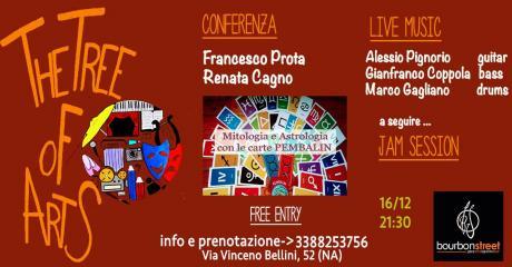 Domenica 16 Dic 2018-live mucis, conferenza astrologica e jam-Napoli Centro Storico