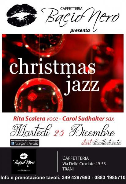 Christmas Jazz a Bacio Nero Trani