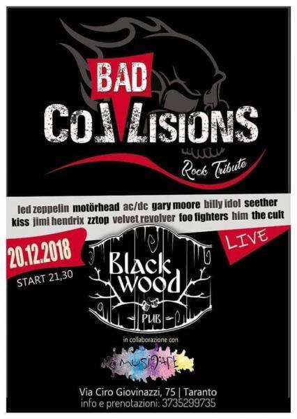 """Bad Collision"" live at Black Wood Pub"