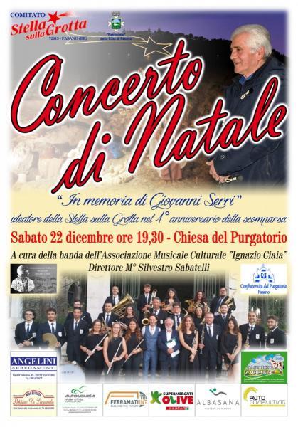 """Concerto di Natale """"In memoria di Giovanni Serri"""""""