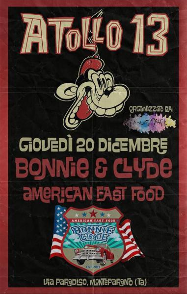 """""""Atollo13"""" live at Bonnie & Clyde"""