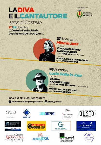 """""""La Diva e Il Cantautore"""", jazz al castello"""