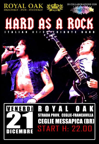 """Hard as a Rock"" AC/DC Italian Tribute Band live at Royal Oak"
