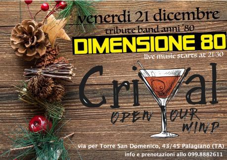Dimensione 80 live al CriVal