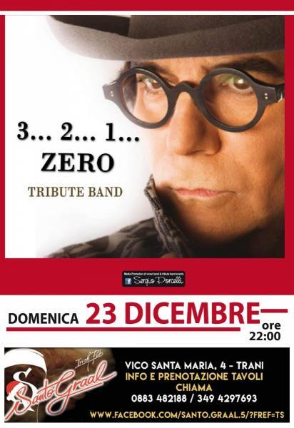 3 2 1 Zero Renato Zero Tribute Band a Trani