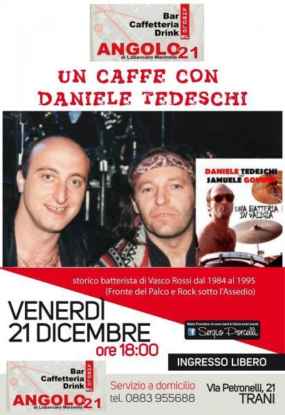 Un Caffè Con Daniele Tedeschi