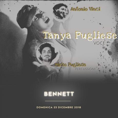 Tanya Pugliese acustic trio | Domenica 23 Dicembre