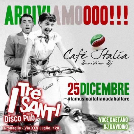 CAFE' ITALIA- musica italiana da ballare