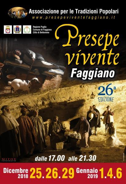 XXVI EDIZIONE DEL PRESEPE VIVENTE DI FAGGIANO