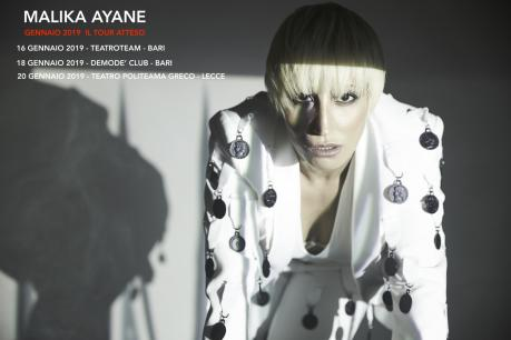 MALIKA AYANE DOMINO TOUR club