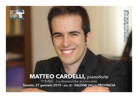Matteo Cardelli - Pianoforte