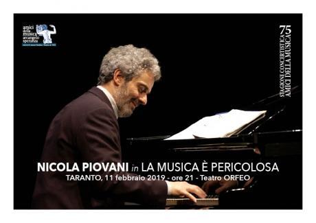 Nicola Piovani in la Musica è Pericolosa