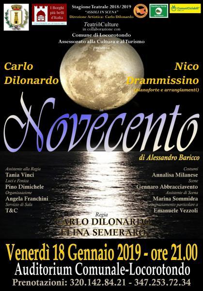 NOVECENTO di A.Baricco