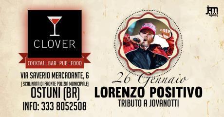 Lorenzo Positivo Live at Clover #eatdrinkenjoy