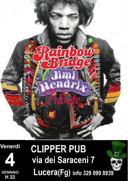 Rainbow Bridge - Jimi Hendrix tribute live@Clipper pub