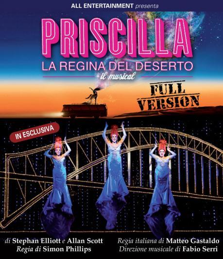 Priscilla la Regina del Deserto, il musical