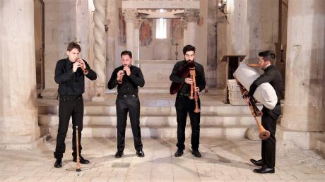 I suoni della Devozione. Rassegna internazionale nelle chiese di Brindisi XIX edizione:Quartetto Petra. Zampogne d'Abruzzo
