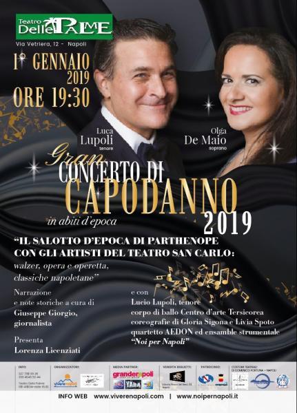 Concerto di Capodanno 2019 Il Salotto di Partenope