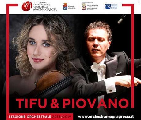 """Anna Tifu e """"Il Fascino del Virtuosismo"""" - Taranto"""
