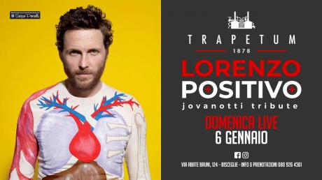 Lorenzo Positivo - Jovanotti Tribute Band a Bisceglie