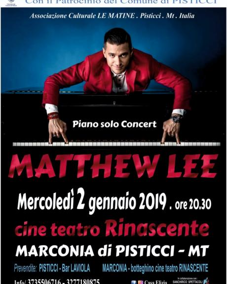 MATTHEW LEE Piano Solo Concert