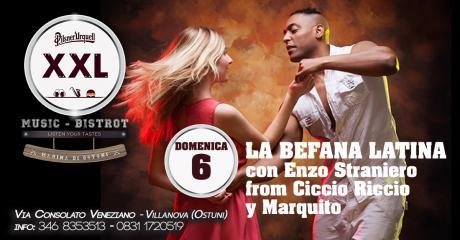 La Befana Latina at XXL Music Bistrot