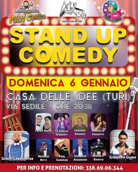 """Laboratorio Pazzo Comico """" Stand up Comedy """""""