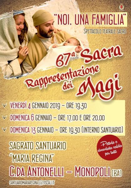 67° Sacra Rappresentazione dei Magi di Antonelli