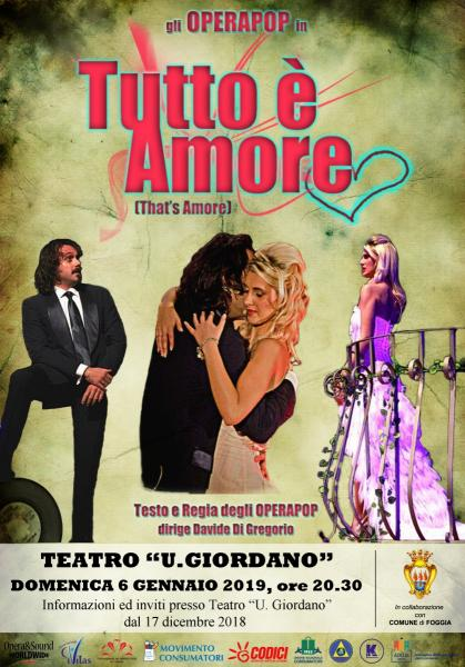 TUTTO E' AMORE (That's Amore) con gli Operapop