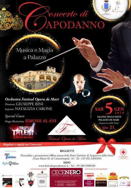 Torna il Festival Opera de Mari con il Concerto di Capodanno