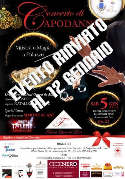 Concerto di Capodanno - Musica e Magia a Palazzo