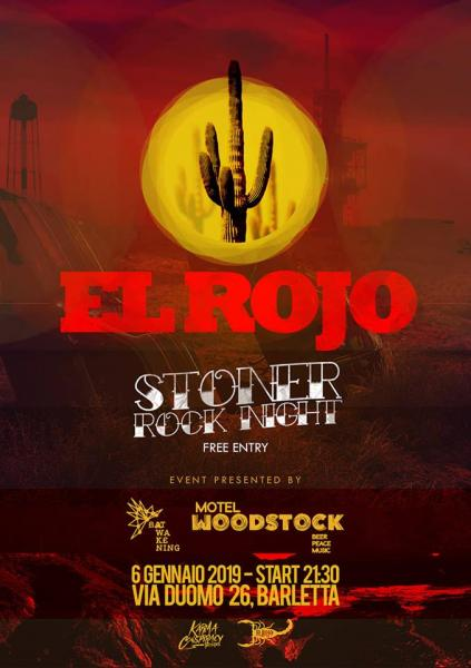 Bat Awakening presents El Rojo - Stoner rock night